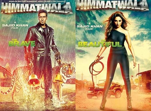 Himmatwala movie poster..