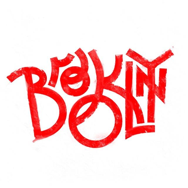 Brooklyn: Logo, Andrei Robu, Lettering, Brooklyn Ny, Typography, Type, Design