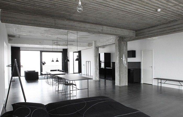 STAY hotel and apartments in Copenhagen, designed by HAY.    room: Copenhagenloft XL.