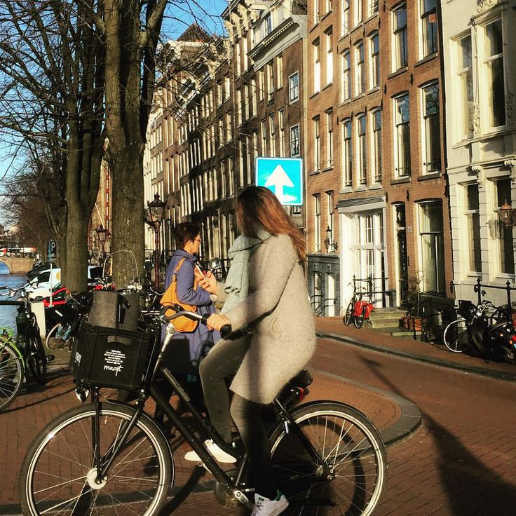 I enjoy every moment as I enjoy every picture. — Lovely day at Amsterdam   #amsterdam...