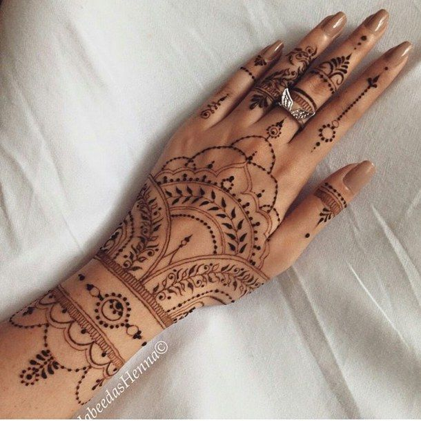 13 besten henna tattoos bilder auf pinterest hand henna. Black Bedroom Furniture Sets. Home Design Ideas