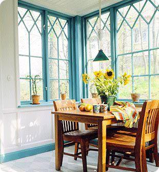 Pardörrar, Spegeldörrar och Fönster i Gammal Stil | www.allmoge.se hörnfönster