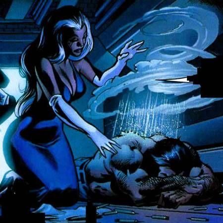 X-Men Storm Comic Vine | Storm and Wolverine  More X-Men @ http://pinterest.com/ingestorm/comic-art-x-men & http://groups.yahoo.com/group/Dawn_and_X_Women & http://groups.google.com/group/Comics-Strips & http://groups.yahoo.com/group/ComicsStrips &  http://www.facebook.com/ComicsFantasy & http://www.facebook.com/groups/ArtandStuff