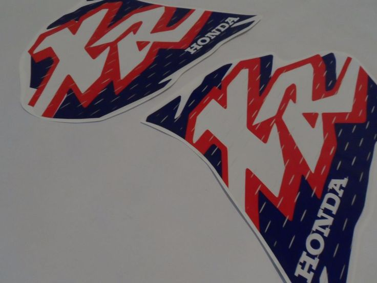 Details about DECAL SET STICKERS GRAPHICS HONDA XR 250 1996, OEM | Honda, Graphics and Decals