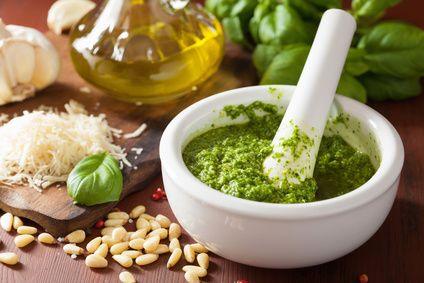 Pyszne zielone pesto - tradycyjny włoski przepis