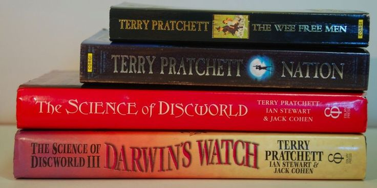 Terry Pratchett: Science of Discworld (books 1 & 3), Nation, The Wee Free Men