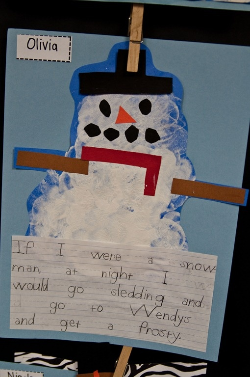 Place Value, MLK, and Snowmen!