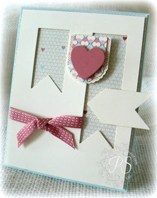 Stampsnsmiles: Hearts and Banners