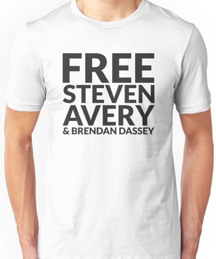 Free Steven Avery & Brendan Dassey (MAKING A MURDERER) Unisex T-Shirt