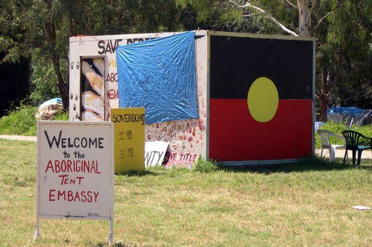 Aboriginal tent embassy, Canberra