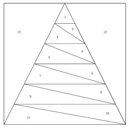 Easy Peasy Paper Piecing Tree Block Read The Paper Pinterest Fascinating Paper Piecing Patterns Free Printables