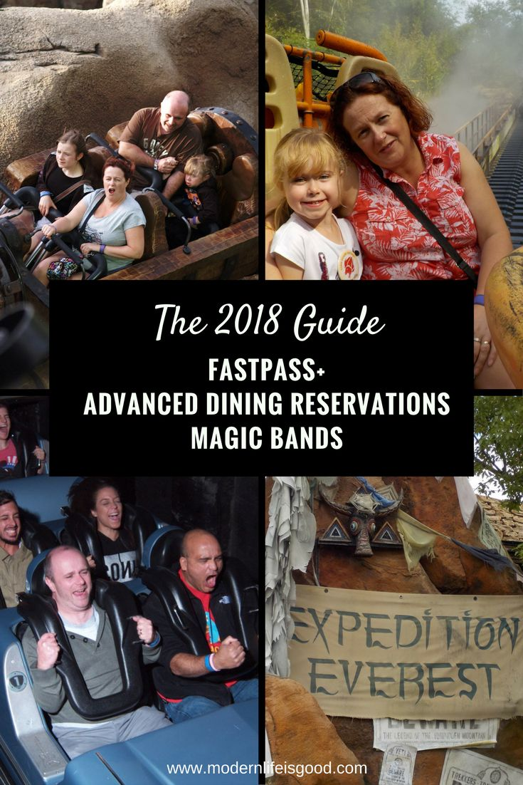 Fastpass+ Advanced Dining Reservations & MagicBands. Want to learn more about Fastpass+, Advanced Dining Reservations, My Disney Experience, MagicBand or MyMagic+? Read our handy guide updated for 2018.
