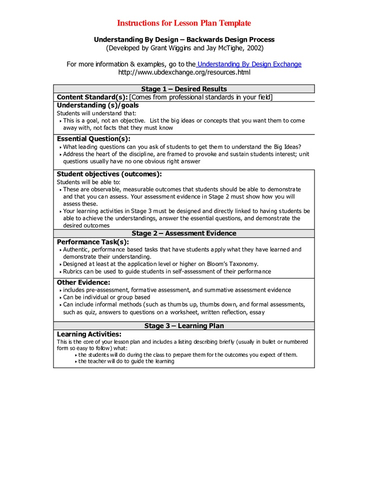 Art Lesson Plans Template Art Lesson Plan Template Free Word Pdf