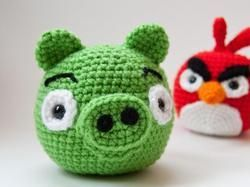 Kendra's Crocheted Creations: Angry bird hat