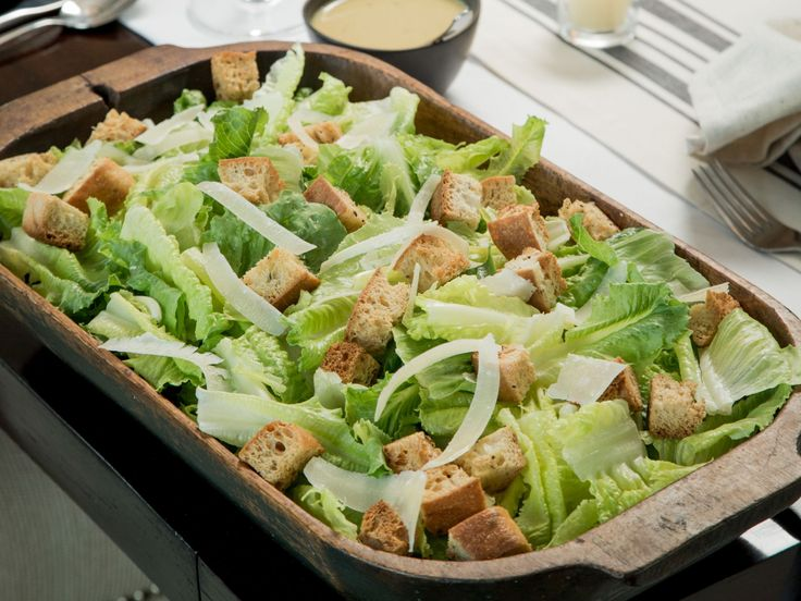 Ultimate Caesar Salad recipe from Ayesha Curry via Food Network