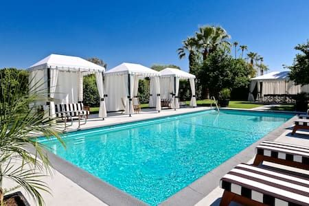 Hotel El Cid. Your own celebrity hideaway. in Palm Springs - Get $25 credit with Airbnb if you sign up with this link http://www.airbnb.com/c/groberts22