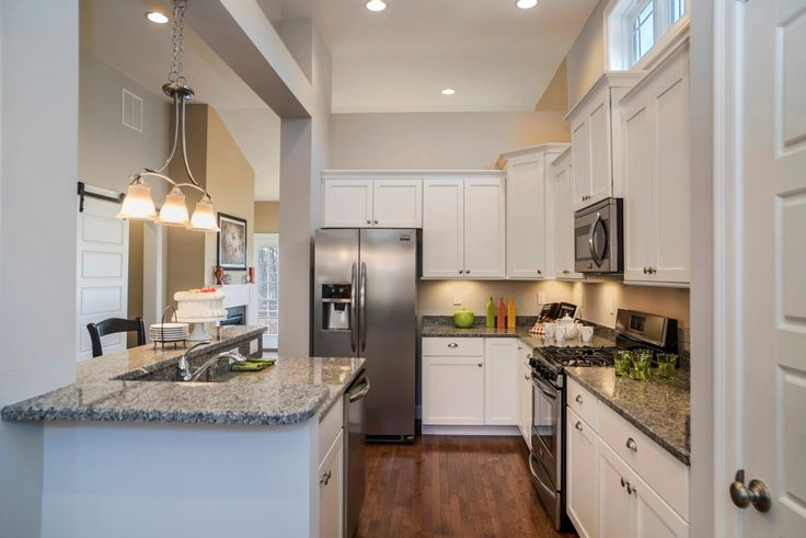 Spectacular kitchen in our Bradley model