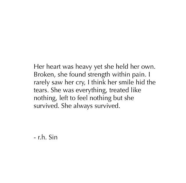 I just want to be happy. My heart is so heavy and so broken. I know I will survive. But my heart will never be the same.