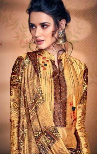 d4c9956eae Belliza Designer Studio The Silk 5 Pure Silk with Digital Print Suit 180-008