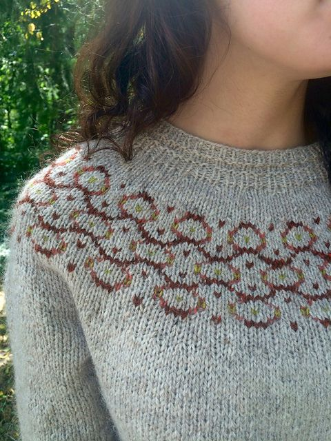 barnstorm by joan forgione / in quince & co. owl and owl tweet