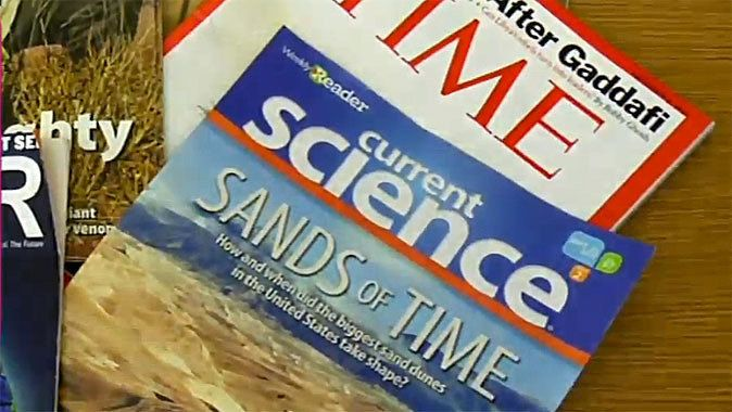 See how you can bring in current events to help make Science more exciting for your students. By bringing in current events into his Science class, Dr. Cortright helps students not only with Science, but also with their language arts skills.