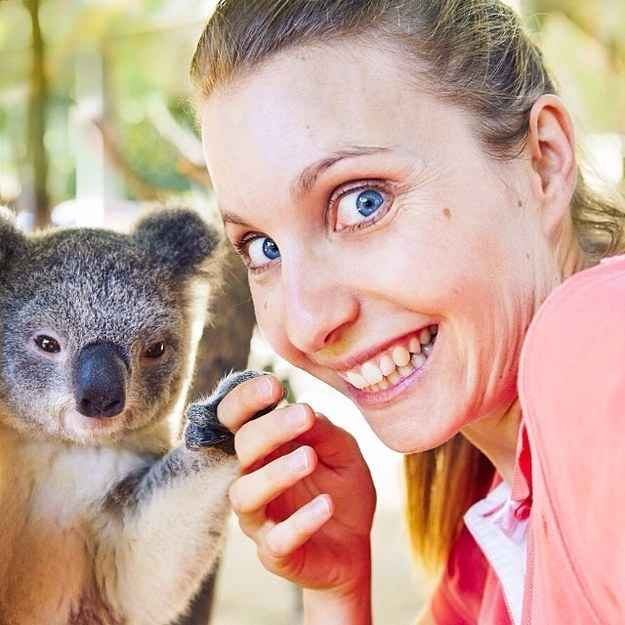 And, of course, take a selfie with a koala.