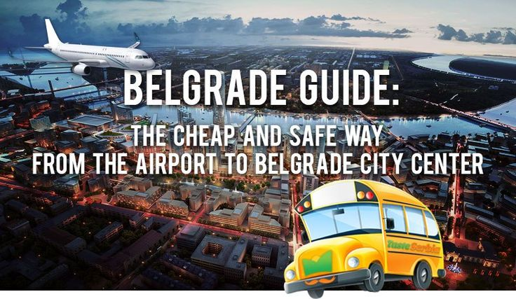 """The biggest Serbian airport """"Nikola Tesla"""" is in Belgrade, in suburban neighborhood Surcin. The airport """"Nikola Tesla"""" is named after our greatest scientist. On this airport lands standard as well as low-cost airlines. In order to avoid shouting from local wild taxi drivers, we have prepared a guideline for you, just to show you how easy and cheap is to drive to the city center and back to the airport."""