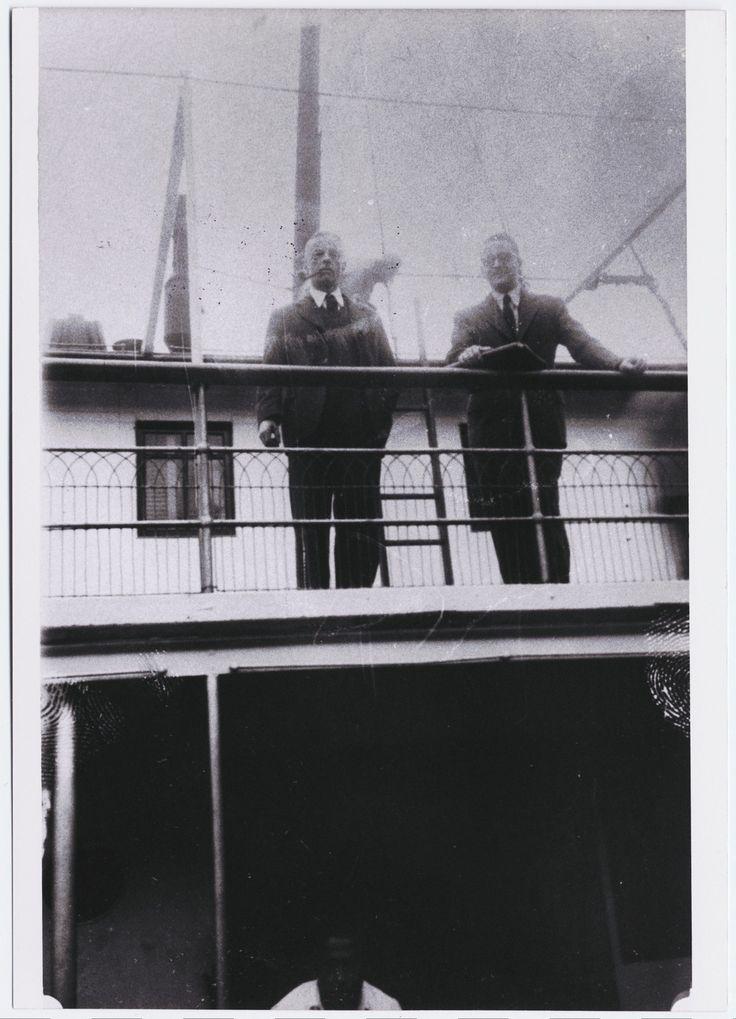 Witold Gombrowicz y Alejandro Rússovich