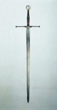 Schwert (Thüringer Landesmuseum Heidecksburg CC BY-NC-SA)