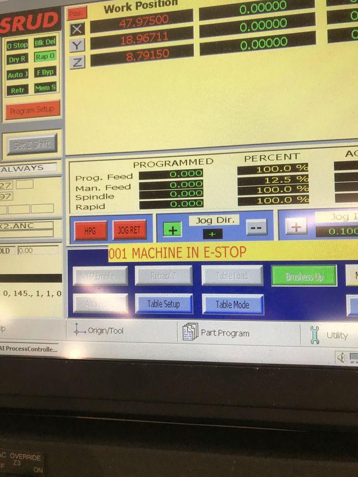 CR onsurd 145G18D Panel pro E stopping