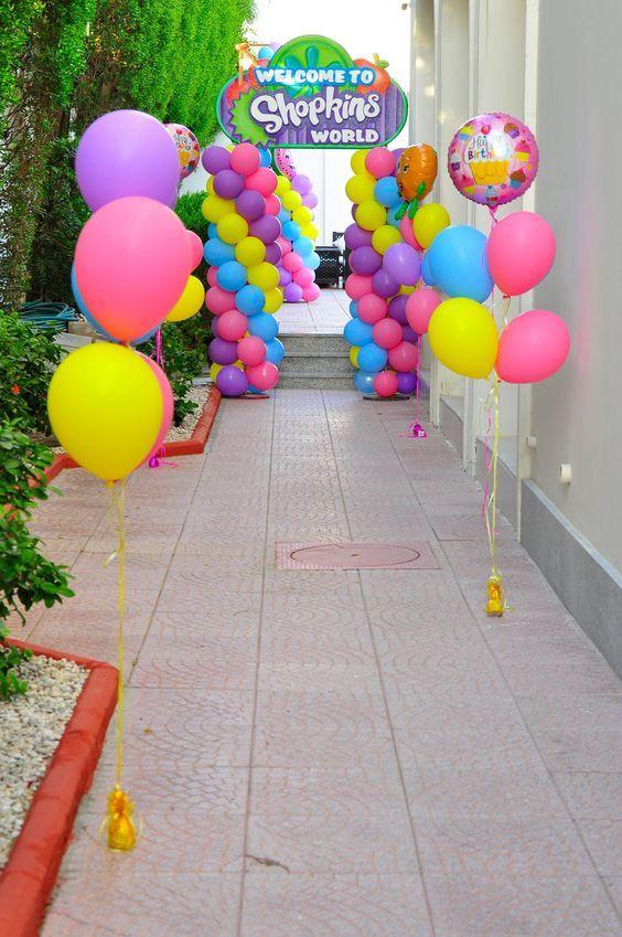 Ideas para fiesta de Shopkins