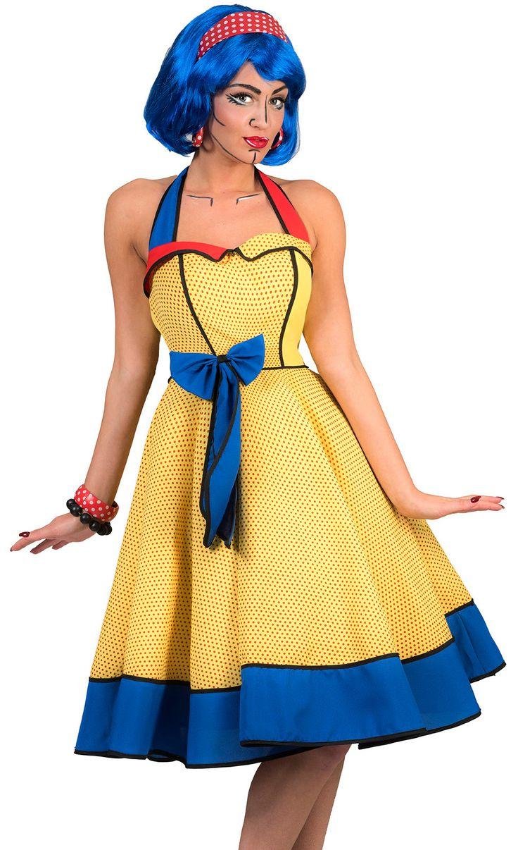Pop Art Kostüm
