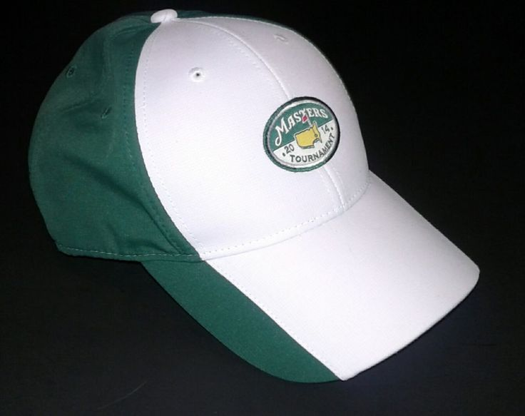 PGA Masters 2014 Tournament Strapback Hat Adjustable UPF 50+ | Sports Mem, Cards & Fan Shop, Fan Apparel & Souvenirs, Golf | eBay!
