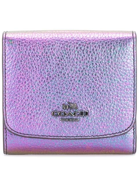 Coach кошелек с логотипом