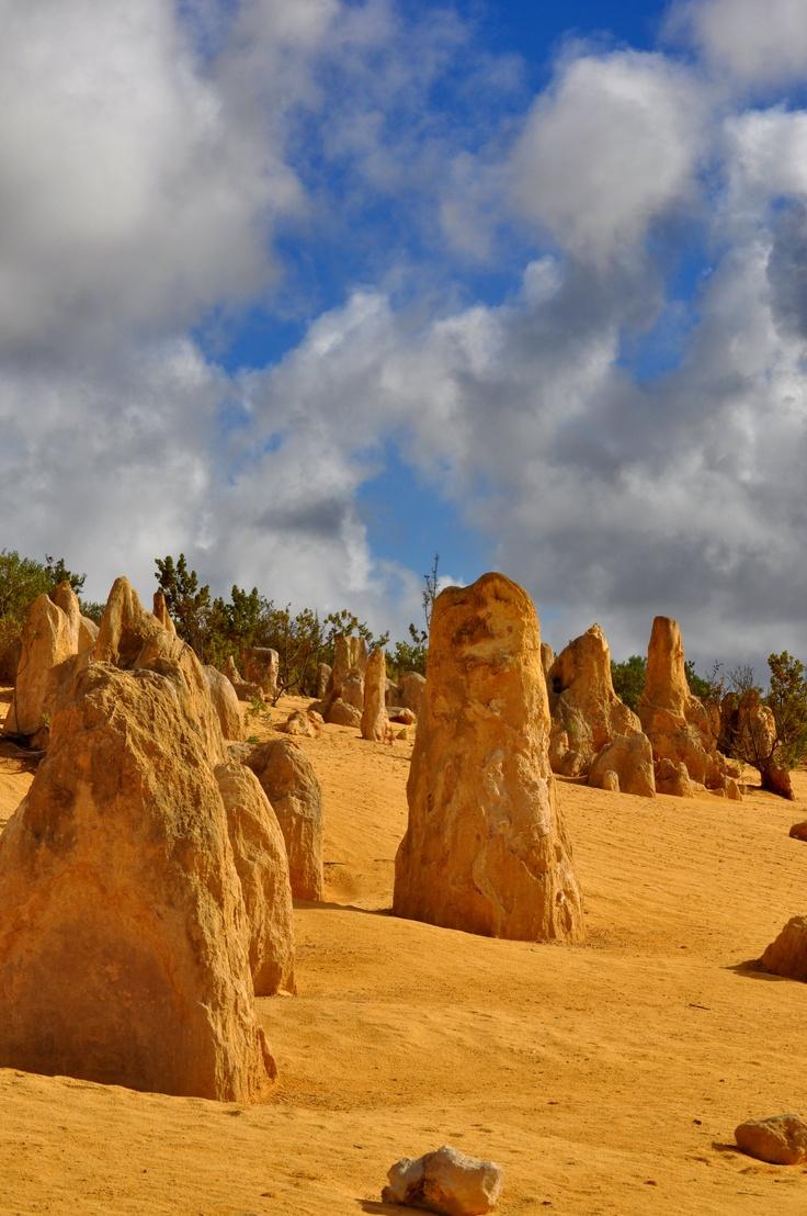 The Pinnacles near Cervantes in WA..