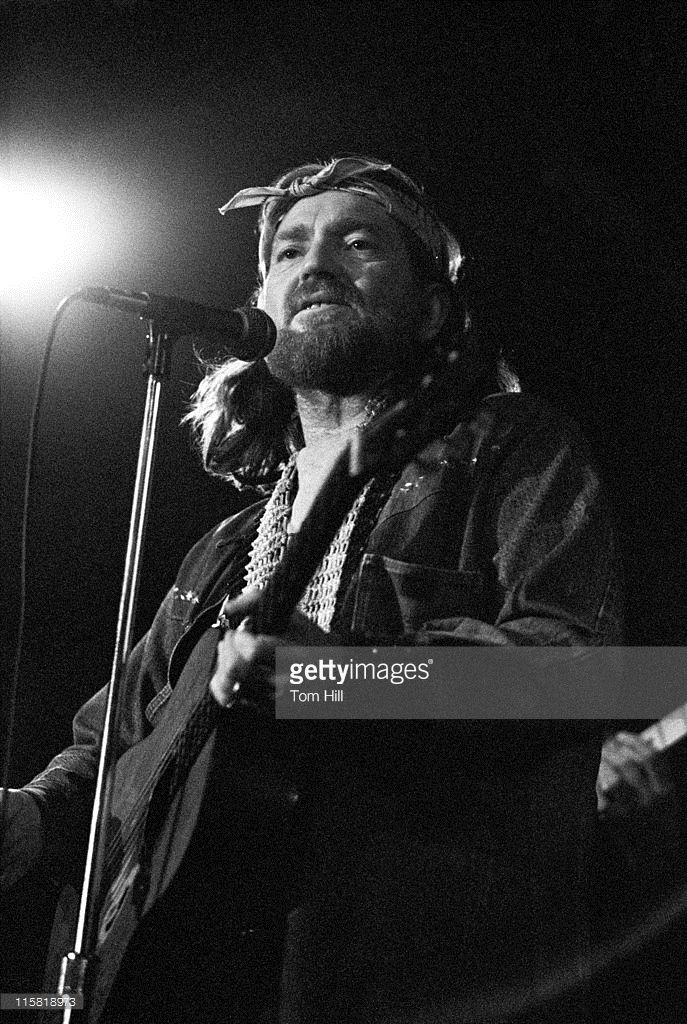 Willie Nelson during Willie Nelson in Concert at the Great Southeast Music Hall in Atlanta - October 27, 1975 at Great Southeast Music Hall in Atlanta, Georgia, United States.