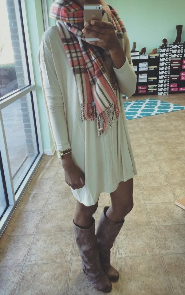 Piko-All You Need Dress-Beige