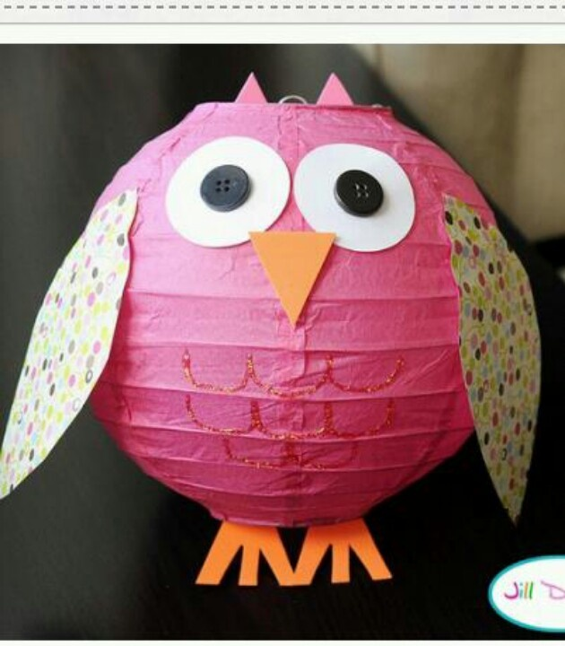What a cute idea for owl decorations!