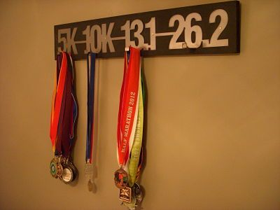 Running display medal racks