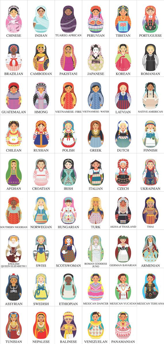Amy Perrotti illustrations -- to pretty up the walls with something ethnic and educational (using many ACEO prints)