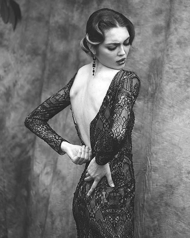 Ersa Atelier Astola evening gown. There is something undeniably provocative about a woman in a dress that brings out the best version of herself.