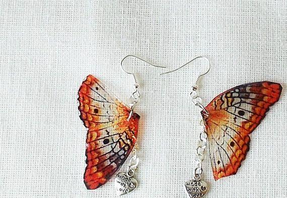 Fairy Wings Earring di IlGiardinoIncantato su Etsy