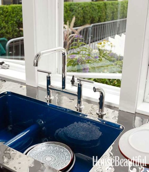 179 best images about kitchen on pinterest kitchen cabinet hardware countertops and - Jonathan adler sink ...