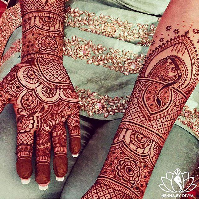 Intricate bridal mehndi by @hennabydivya #indianbride #indianwedding…