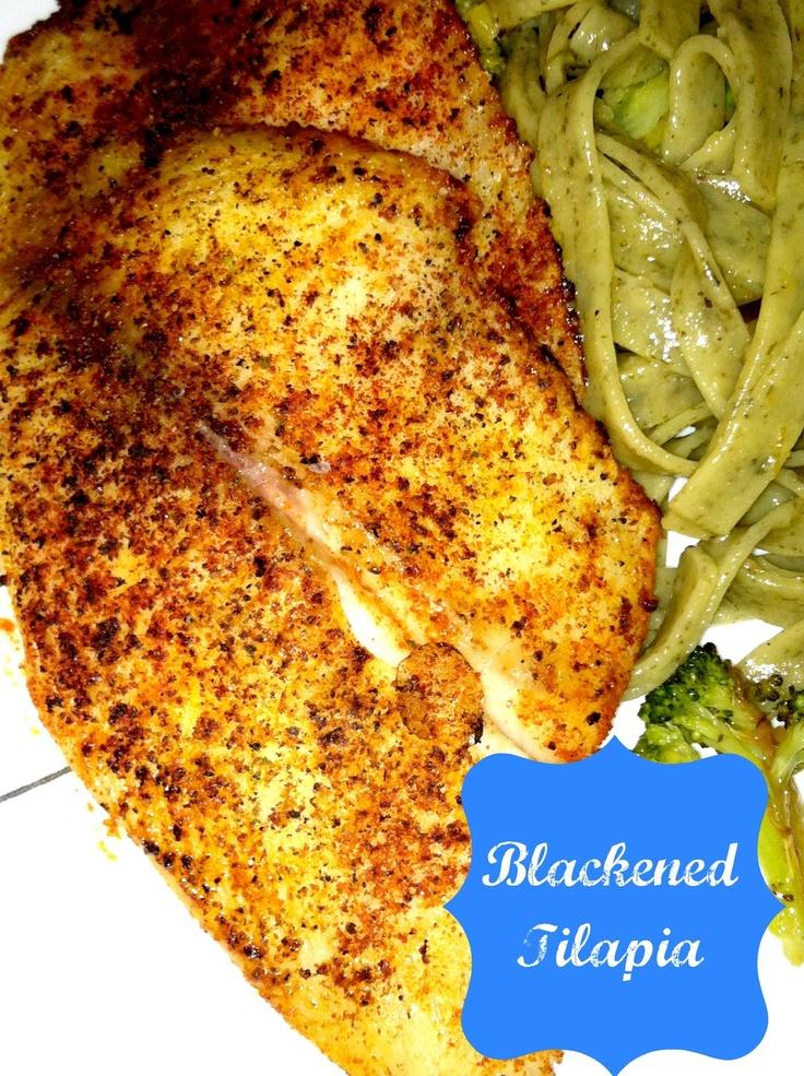 how to make blackened fish