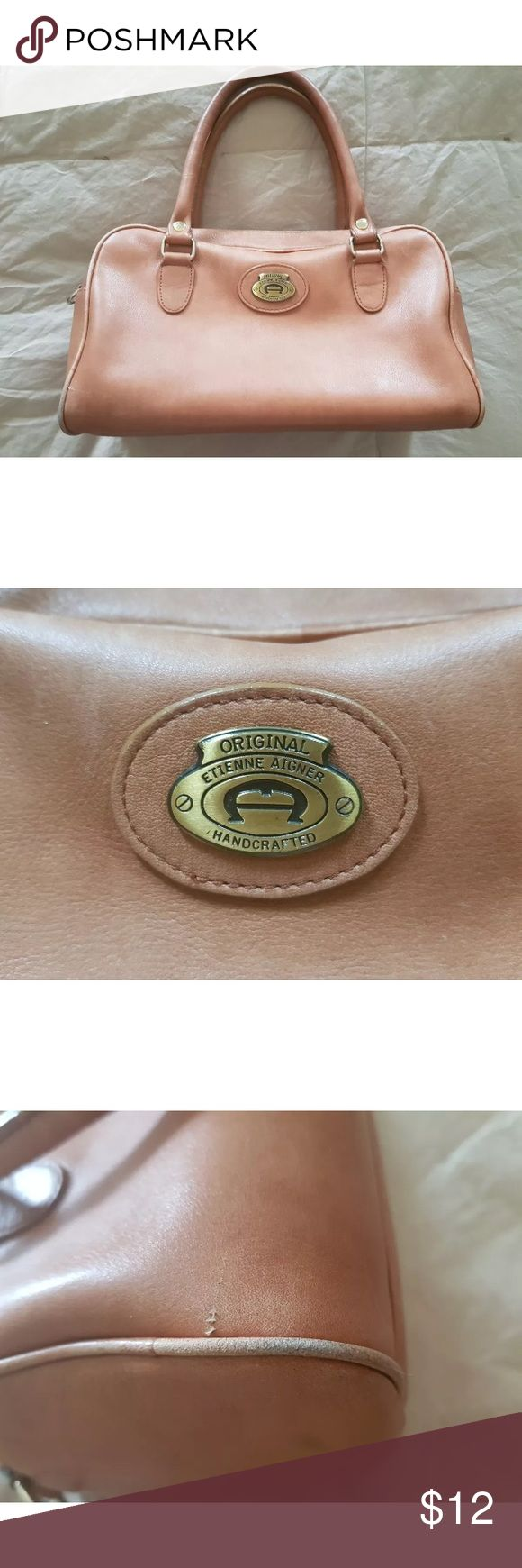 Etienne aigner small handbag All defects are pictured Etienne Aigner Bags