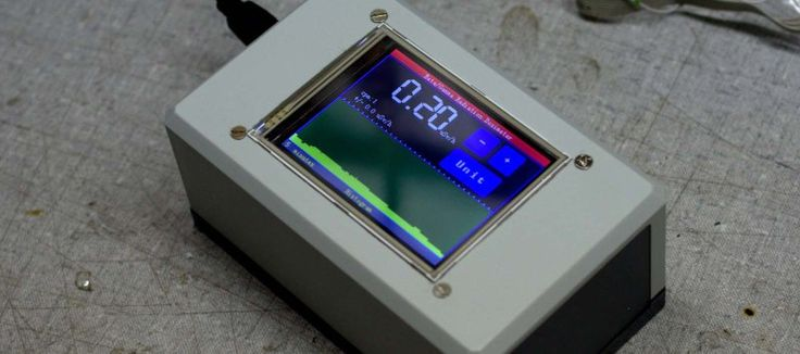 A TOUCH SCREEN GEIGER COUNTER WITHOUT A GEIGER