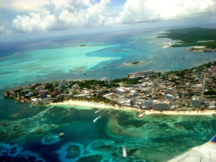 vista panoramica San Andres islas