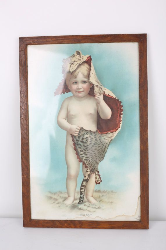 Scotts Emulsion Advertising Artwork Piece Circa by RelicsAntiques, $199.99