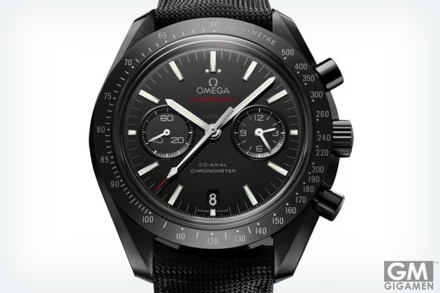 ダークに輝く!オメガの新作腕時計は月のパワーを集めた逸品
